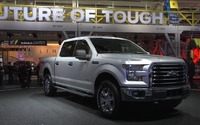 2015 Ford F-150 at 2014 NAIAS