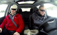 Nissan Rogue Takes to the Track - the Ice Track