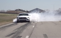 Ford adds a Line Lock Feature on the 2015 Mustang